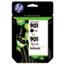 HP 901 Ink Cartridges - Black, Tri-color, 2 Cartridges (CN069FN) Thumbnail 1