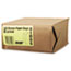 General #2 Paper Grocery Bag, 30lb Kraft, Standard 4 5/16 x 2 7/16 x 7 7/8, 500 bags Thumbnail 2