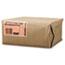 General #4 Paper Grocery Bag, 30lb White, Standard 5 x 3 1/3 x 9 3/4, 500 bags Thumbnail 2