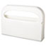 "HOSPECO® Toilet Seat Cover Dispenser, Half-Fold, Plastic, White, 16""W x 3-1/4""D x 11-1/2""H, 2/BX Thumbnail 1"