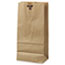 General #10 Paper Grocery Bag, 35lb Kraft, Standard 6 5/16 x 4 3/16 x 13 3/8, 500 bags Thumbnail 1