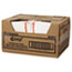 Chix® Food Service Towels, 13 x 21, Cotton, White/Red, 150/Carton Thumbnail 2