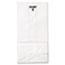 General #4 Paper Grocery Bag, 30lb White, Standard 5 x 3 1/3 x 9 3/4, 500 bags Thumbnail 3