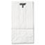 General #2 Paper Grocery Bag, 30lb White, Standard 4 5/16 x 2 7/16 x 7 7/8, 500 bags Thumbnail 1
