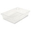 Rubbermaid® Commercial Food/Tote Boxes, 8 1/2gal, 26w x 18d x 6h, Clear Thumbnail 1