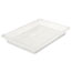 Rubbermaid® Commercial Food/Tote Boxes, 5gal, 26w x 18d x 3 1/2h, Clear Thumbnail 1