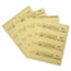 """Rubbermaid® Commercial Over-the-Spill Pad, """"Caution Wet Floor"""", Yellow, 16 1/2"""" x 20"""", 25 Pads/Pack Thumbnail 2"""