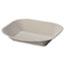 Chinet® Savaday Molded Fiber Food Tray, 9 x 7, Beige, 250/Bag, 500/Carton Thumbnail 1