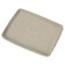 Chinet® StrongHolder Molded Fiber Food Trays, 9 x 12 x 1, Beige, Rectangular, 250/Carton Thumbnail 1