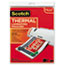 Scotch™ Letter Size Thermal Laminating Pouches, 3 mil, 11 1/2 x 9, 20/Pack Thumbnail 1
