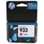 HP 933 Ink Cartridge, Magenta (CN059AN) Thumbnail 1