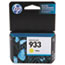 HP 933 Ink Cartridge, Yellow (CN060AN) Thumbnail 1
