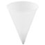 SOLO® Cup Company Cone Water Cups, Paper, 4oz, Rolled Rim, White, 200/Bag, 25 Bags/Carton Thumbnail 1