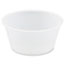 SOLO® Cup Company Polystyrene Portion Cups, 3.25oz, Translucent, 250/Bag, 10 Bags/Carton Thumbnail 1