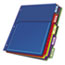 Cardinal® Poly Expanding Pocket Index Dividers, 5-Tab, Letter, Multicolor, per Pack Thumbnail 2