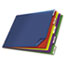 Cardinal® Tabloid-Size Poly Index Divider, 5-Tab, Multicolor Colors Thumbnail 2