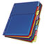 Cardinal® Poly Expanding Pocket Index Dividers, 8-Tab, Letter, Multicolor, per Pack Thumbnail 2