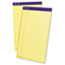 Ampad™ Perforated Writing Pad, 8 1/2 x 14, Canary, 50 Sheets, Dozen Thumbnail 1