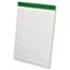 Ampad™ Earthwise Recycled Writing Pad, 8 1/2 x 11 3/4, White, Dozen Thumbnail 1