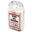 Genpak® Clear Hinged Deli Container, 24oz, 7 1/4 x 6 2/5 x 2 1/4, 100/BG, 2 BGS/CT Thumbnail 2