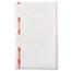 Chix® Food Service Towels, 13 x 21, Cotton, White/Red, 150/Carton Thumbnail 3