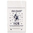 Inteplast Group Ice Bag, 12 x 21, 10lb Capacity, 1.5mil, Clear/Blue, 1000/Carton Thumbnail 2