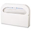 "HOSPECO® Toilet Seat Cover Dispenser, Half-Fold, Plastic, White, 16""W x 3-1/4""D x 11-1/2""H, 2/BX Thumbnail 2"