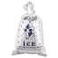 Inteplast Group Ice Bag, 12 x 21, 10lb Capacity, 1.5mil, Clear/Blue, 1000/Carton Thumbnail 1
