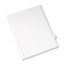 Avery® Individual Legal Dividers Style, Letter Size, Avery-Style, Side Tab Dividers, #5, 25/PK Thumbnail 2