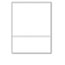 """PrintWorks® Professional Office Paper, Perforated 3-5/8"""" From Bottom, 8-1/2 x 11, 24-lb. Thumbnail 1"""