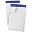Ampad™ Recycled Writing Pads, Jr. Legal/Margin Rule, 5 x 8, White, 50 Sheets, Dozen Thumbnail 1