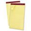 "Ampad™ Gold Fibre Pad, 8 1/2"" x 14"", Canary, 50 Sheets, DZ Thumbnail 1"