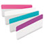 Post-it® Tabs File Tabs, 3 x 1 1/2, Assorted Pastel Colors, 24/Pack Thumbnail 1