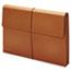 Pendaflex® Expanding Wallet, 3 1/2 Inch Expansion, 12 x 18, Brown Thumbnail 2