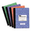 TOPS™ Composition Book w/Hard Cover, Legal/Wide, 9 3/4 x 7 1/2, White, 100 Sheets Thumbnail 1