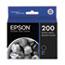Epson® T200120 (200) DURABrite Ultra Ink, Black Thumbnail 1