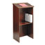 Safco® Stand-Up Lectern, 23w x 15-3/4d x 46h, Mahogany Thumbnail 2
