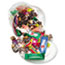 Office Snax® Soft & Chewy Mix, Assorted Soft Candy, 2 lb Plastic Tub Thumbnail 1