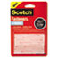 """Scotch™ Hook and Loop Fastener Tape, 1"""" x 3"""", two sets, Clear Thumbnail 1"""