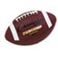 """Champion Sports Pro Composite Football, Official Size, 22"""", Brown Thumbnail 1"""