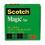 "Scotch™ Magic Tape Refill, 1/2"" x 1296"", 1"" Core, Clear Thumbnail 1"