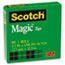 "Scotch™ Magic Tape Refill, 1/2"" x 1296"", 1"" Core, Clear Thumbnail 2"