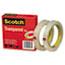 """Scotch™ Transparent Tape 600 2P12 72, 1/2"""" x 2592"""", 3"""" Core, Transparent, 2/Pack Thumbnail 4"""