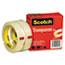 """Scotch™ Transparent Tape 600 2P34 72, 3/4"""" x 2592"""", 3"""" Core, Transparent, 2/Pack Thumbnail 2"""