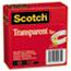 """Scotch™ Transparent Tape 600 2P34 72, 3/4"""" x 2592"""", 3"""" Core, Transparent, 2/Pack Thumbnail 1"""