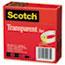 """Scotch™ Transparent Tape 600 2P34 72, 3/4"""" x 2592"""", 3"""" Core, Transparent, 2/Pack Thumbnail 6"""