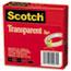 """Scotch™ Transparent Tape 600 2P12 72, 1/2"""" x 2592"""", 3"""" Core, Transparent, 2/Pack Thumbnail 3"""
