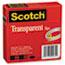 """Scotch™ Transparent Tape 600 2P12 72, 1/2"""" x 2592"""", 3"""" Core, Transparent, 2/Pack Thumbnail 5"""