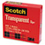"""Scotch™ Transparent Tape, 1/2"""" x 1296"""", 1"""" Core, Clear Thumbnail 3"""