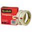 """Scotch™ Transparent Tape 600 2P34 72, 3/4"""" x 2592"""", 3"""" Core, Transparent, 2/Pack Thumbnail 5"""